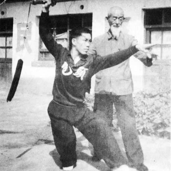Il Maestro Guo Pei Yun e il Maestro Yang Lin Sheng