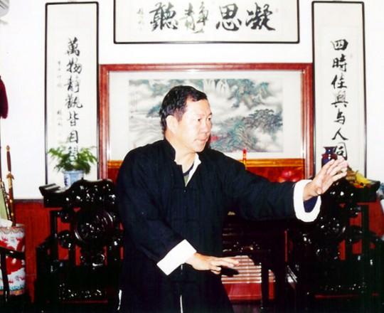 Il Maestro Yang Lin Sheng pratica Xing Yi Quan nella sua casa di Tianjin