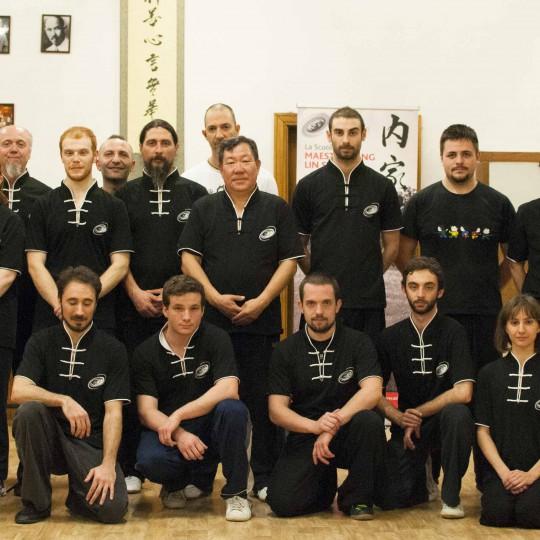 Stage del Maestro Yang Lin Sheng - Modena 17 Marzo 2014