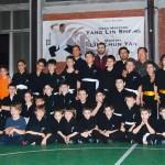 Stage del Maestro Yang Lin Sheng - Paderno Dugnano 21 Marzo 2014 (Gruppo Shao Lin, bambini)