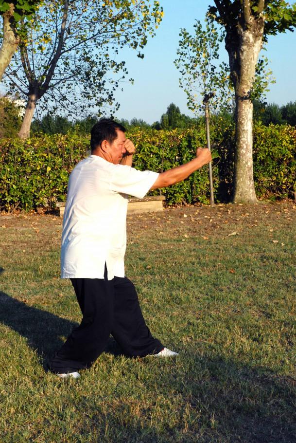 Pao Quan (fuoco), guardia sinistra