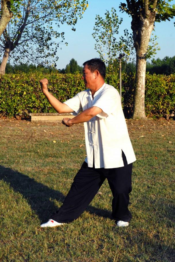 Zuan Quan (acqua), guardia destra