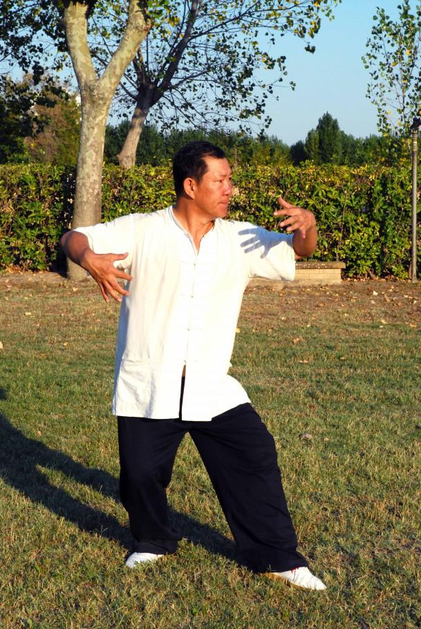 Mao dun zhuang, guardia sinistra