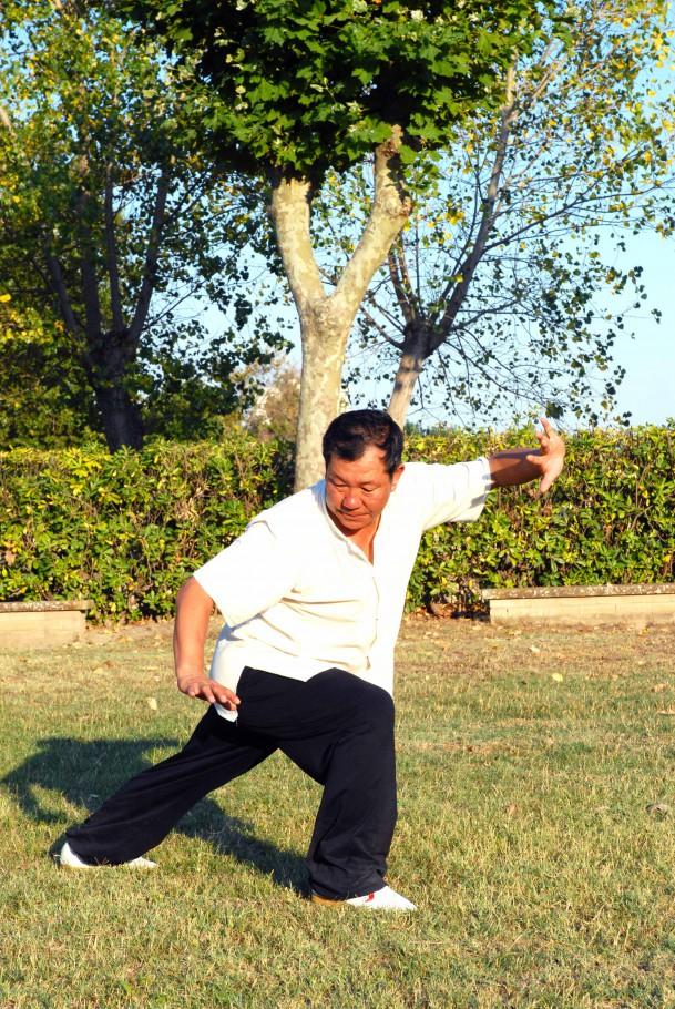 Xiang long zhuang, guardia destra