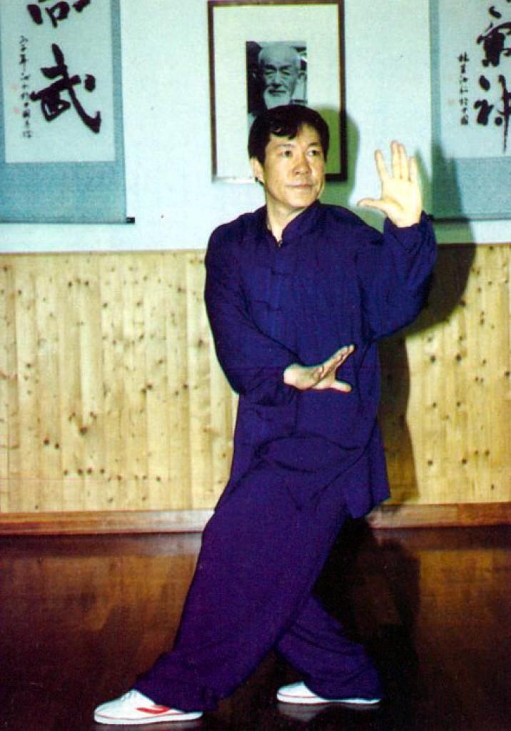 Maestro Yang Lin Sheng, Ba Gua Zhang - Il Drago Azzurro esce allunga la zampa