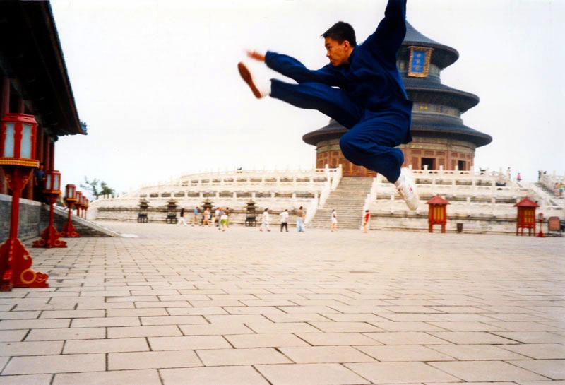 Yang Meng, il figlio del Maestro Yang Lin Sheng - Fei Jiao