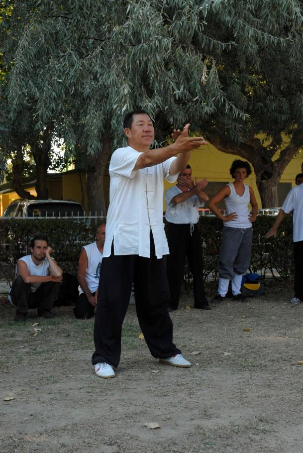 Forma13, movimento 13 - Shi Zi (chiusura)