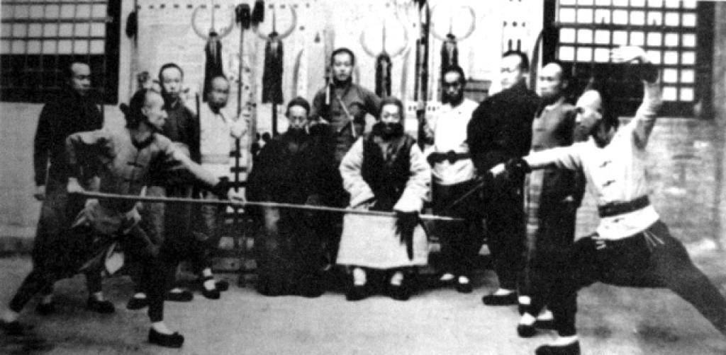 I famosi maestri dello Xing Yi Quan, Guo Yun Shen e Che Yi Zhai - Paese di Tai Gu nello Shan Xi